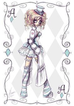 Crazy Alice Character 2 by NoFlutter.deviantart.com on @deviantART