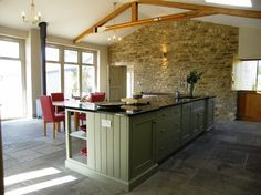 Barn Conversion, Manor Farm House, Glanvilles Wootton - farmhouse - Kitchen - South West - Proctor Watts Cole Rutter