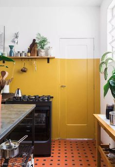 of ideas chapter 2 - color inspiration - . - Source of ideas Chapter 2 – Color inspiration – -Source of ideas chapter 2 - color inspiration - . - Source of ideas Chapter 2 – Color inspiration – - Küchen Design, Home Design, Design Ideas, Rustic Kitchen, Kitchen Decor, Kitchen Colors, Kitchen Ideas, Kitchen Yellow, Warm Kitchen