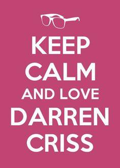 ♥ LOVE DARREN CRISS!!! ♥