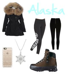 """""""Alaska❄️"""" by mallory-schultz on Polyvore featuring Hanwag, adidas Originals and Casetify"""
