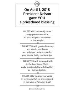 We can only be recipients of priesthood blessings if we have FAITH - in the priesthood, in the authority, in taking inspired action… Lds Quotes, Great Quotes, Quotes To Live By, Inspirational Quotes, Quotes 2016, Prophet Quotes, Gospel Quotes, Mormon Quotes, Spiritual Thoughts