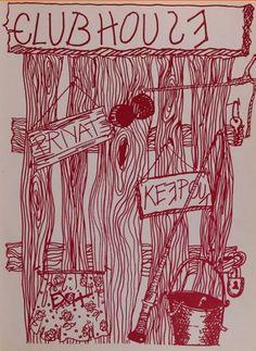 """Student art in the 1970 """"Mast"""" yearbook at Garden City high school in Garden City, New York.  #GardenCity #Mast #yearbook #1970"""