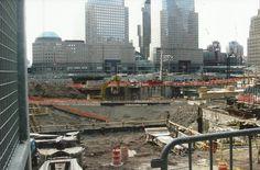 Ground Zero...they were still cleaning