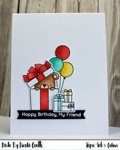 Paper Ink & Colour: MFT Beary Special Birthday