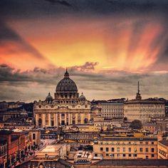 @c_today #sunset #vatican