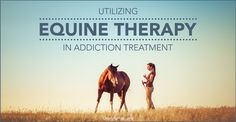 Equine therapy, or therapy that revolves around interacting with horses, has shown vast success within drug rehab programs. We'd like the opportunity to share more with you about how this unique therapy works. #Equine #Therapy #Addiction #Recovery