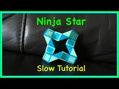 ▶ Rubik's Twist or Smiggle Snake Puzzle Tutorial: How to make a Ninja Star SLOW Step by Step - YouTube