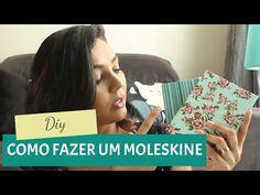 DIY   Como fazer um Moleskine   Por GavetaMix - YouTube