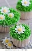 cupcakes daisies