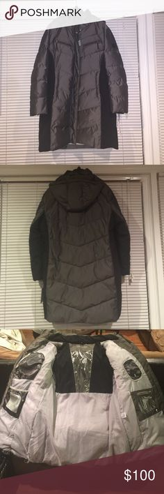 Calvin Klein Performance XXL Coat Withstands up to -10 degree weather. Excellent Coat for the up and coming months. Dark grey/ Black with thermal interior. And extra pockets inside for cellphone and wallet. NWT. Calvin Klein Jackets & Coats Puffers