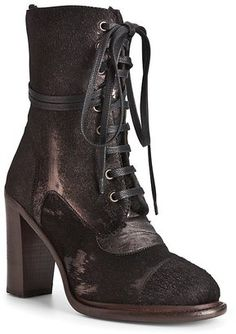 UGG® Collection Lace Up Booties - Pierra High Heel UGG