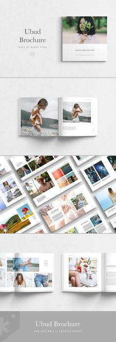 travel brochure layout design beautiful ubud brochure by ruben stom on creativemarket of travel brochure layout design Indesign Templates, Adobe Indesign, Brochure Template, Stationery Templates, Design Brochure, Brochure Layout, Brochure Ideas, Travel Brochure, Magazine Design