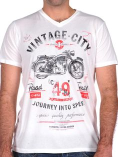 Vintage City Tee by Wicked Quick