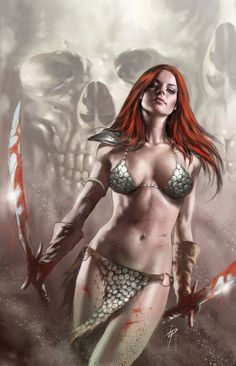 Red Sonja *probably would never do it. Although, never say never..*