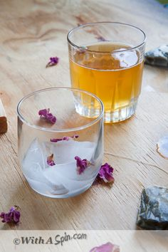 Cardamom infused tea with rose water, honey and a hint of saffron.  Fragrant, flavorful and so fun to sip away. Serve hot or over ice using regular or green tea.