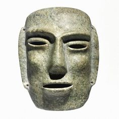 A Chontal stone mask, Late Preclassic, ca. 300-100 B.C. - Sotheby's