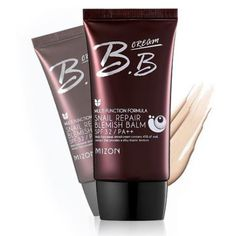Note: Item sold without box due to freight damage. Expires October 6, 2017.  	   	   	Mizon  Multi Functions Formula Snail Repair BB Cream is a high performing multi functional BB cream that uses snail extract to improve the condition of damaged skin.  Snail extract's anti-inflammatory and healing properties actively reduce blemishes. While is cell regeneration effect increases collagen production and decreases the appearance of scars. This BB cream is perfect for mature and young skin typ.....