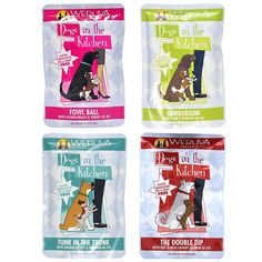 Weruva Dogs in the Kitchen Grain Free Wet Dog Food Variety Pack - 4 Flavors - Fowl Ball, Lamburgini, Double Dip, and Funk in the Trunk - 2.8 Ounces Each (4 Total Pouches) * Click on the image for additional details. (This is an affiliate link and I receive a commission for the sales)