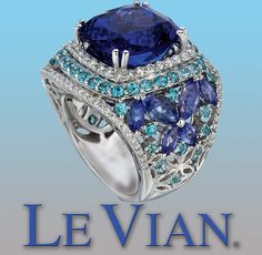 I love this ring!  I adore LeVian Jewelry