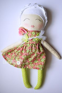 HandMade by Gio: Le mie dolls-Tiny Flower Dolls