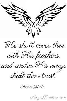 Psalm 91:4 – Under His Wings