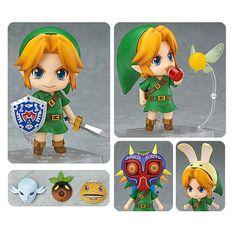BLOG DOS BRINQUEDOS: The Legend of Zelda: Majora's Mask Link Nendoroid