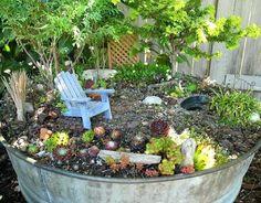 7+ Best Fairy Garden Ideas for Your Inspiration Farm Gardens, Outdoor Gardens, Container Plants, Container Gardening, Pot Jardin, Garden Architecture, Architecture Design, Fairy Garden Houses, Gardening Supplies