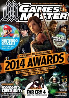 #Gamesmaster  285. We're coming to the end of a remarkable 12 months. Which titles did we, and you, pick for this most illustrious GamesMaster accolade? The makers of Mario are putting together a bumper year worth of gaming delights to look forward to.