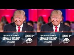 'Town Hall' with 'Donald Trump' & his family at 'TODAY' SHOW, NBC, April...