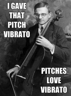 Vibrato @Jaime Hayer lol