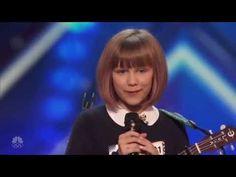 Grace VanderWaal Golden Voice America's Got Talent 2016 Miracle - YouTube