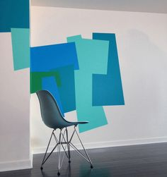 Color Blocking Wall Decals by Mina Javid for Blik