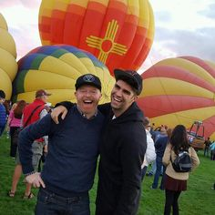 "36k Likes, 177 Comments - Jesse Tyler Ferguson (@jessetyler) on Instagram: ""Albuquerque #balloonfiesta in the Land of Enchantment!"""
