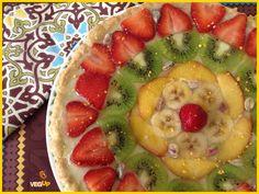crostata alla frutta fresca con crema pasticcera al cardamono