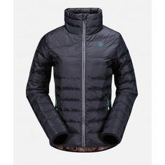 Volcom Womens Snowboard Jacket Bell Down Puff Black