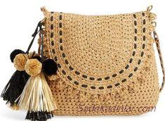 Marvelous Crochet A Shell Stitch Purse Bag Ideas. Wonderful Crochet A Shell Stitch Purse Bag Ideas. Crochet Clutch, Crochet Handbags, Crochet Purses, Crochet Bags, Purse Patterns, Crochet Patterns, Crochet Shell Stitch, Shoulder Strap Bag, Straw Handbags