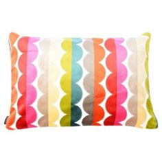 Check out this item at One Kings Lane! Grace 16x24 Velvet Pillow, Multi