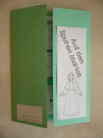 """Vorlagen für ein Lapbook """"Auf den Spuren Marias"""" Vor einiger Zeit kam eine Anfrage, ob ich nicht Vorlagen für ein Lapbook zur biblischen ..."""