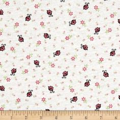 Children Cotton Knit Lady Bug Pink/White This cotton jersey knit fabric has a soft hand and about 15% stretch across the grain. This versatile fabric is perfect for creating kids' apparel and T-shirts.