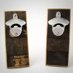 The DropCatch Bourbon Bottle Opener Is Made From Old Bourbon Barrels | Cool Material