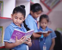 #Library_mayoor_school_To inculcate the habit of avid and voracious reading, the Mayoor School library stocks around 11,000 books on diverse topics and subjects which are easily accessible to the students.