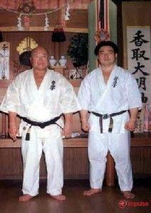 matsui with sosai oyama