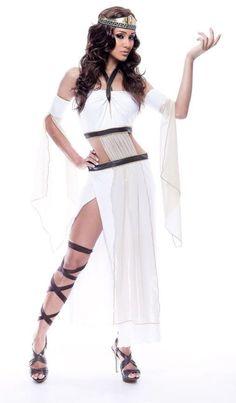 women's costume: grecian goddess