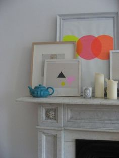 Colourful mantle
