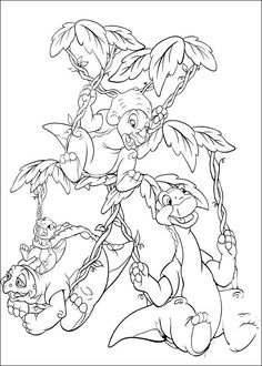 coloring page Land Before Time Kids-n-Fun