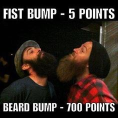 "I see Adam and our friend Alex doing this bahaha them and their ""beard babies"""