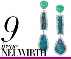Irene Neuwirth - Love the mixed shapes and stones. And you can never go wrong with diamonds