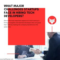 Here are the 10 facets that a tech startup can look for in a candidate, that are sometimes present by default in a person may be due to heredity you can say:- Read More