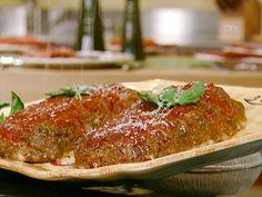 Italian Meatloaf Recipe : Michael Chiarello : Food Network